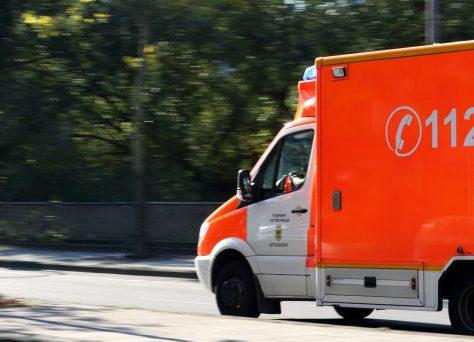 lesiones accidente de tráfico